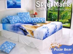 Sprei Santika Polar Bear 160×200
