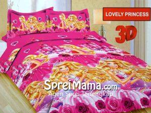 Sprei Bonita Lovely Princess 3D 180×200