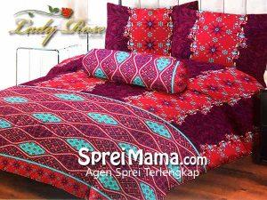 Sprei Lady Rose Maharani 180×200