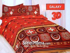 Sprei Bonita Galaxy 3D 180×200