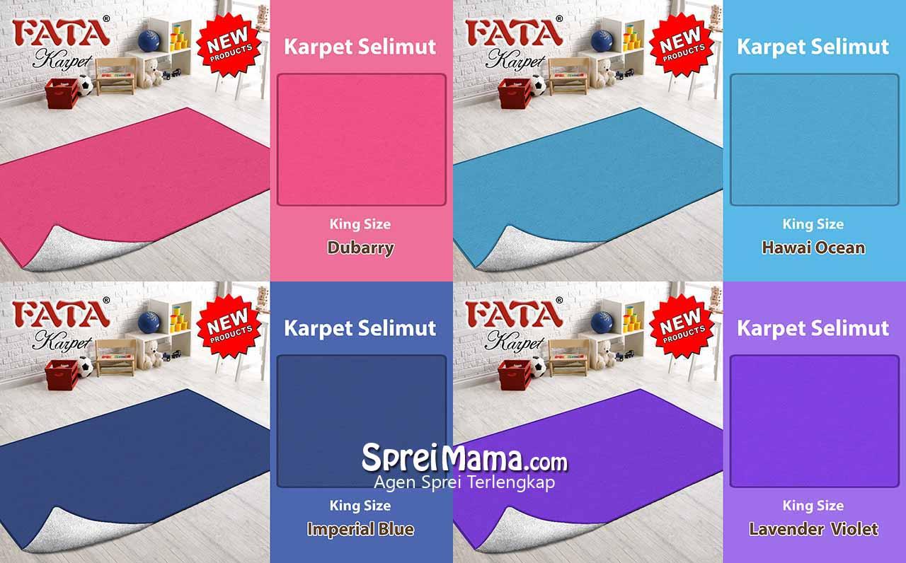 Katalog Karpet Selimut Fata